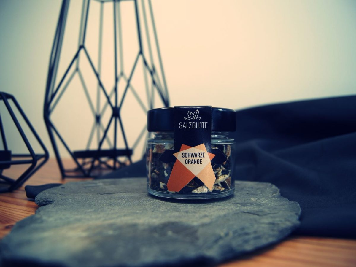 Schwarze Orange Produktbild